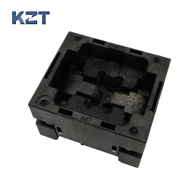 BGA48 OPEN TOP burn-in socket pitch 0.8mm IC size 9*11mm BGA48(9*11)-0.8-TP10/50N BGA48 VFBGA48 Burn in/programmer socket bga80 open top burn in socket pitch 0 8mm ic size 7 9mm bga80 7 9 0 8 tp01nt bga80 vfbga80 burn in programmer socket