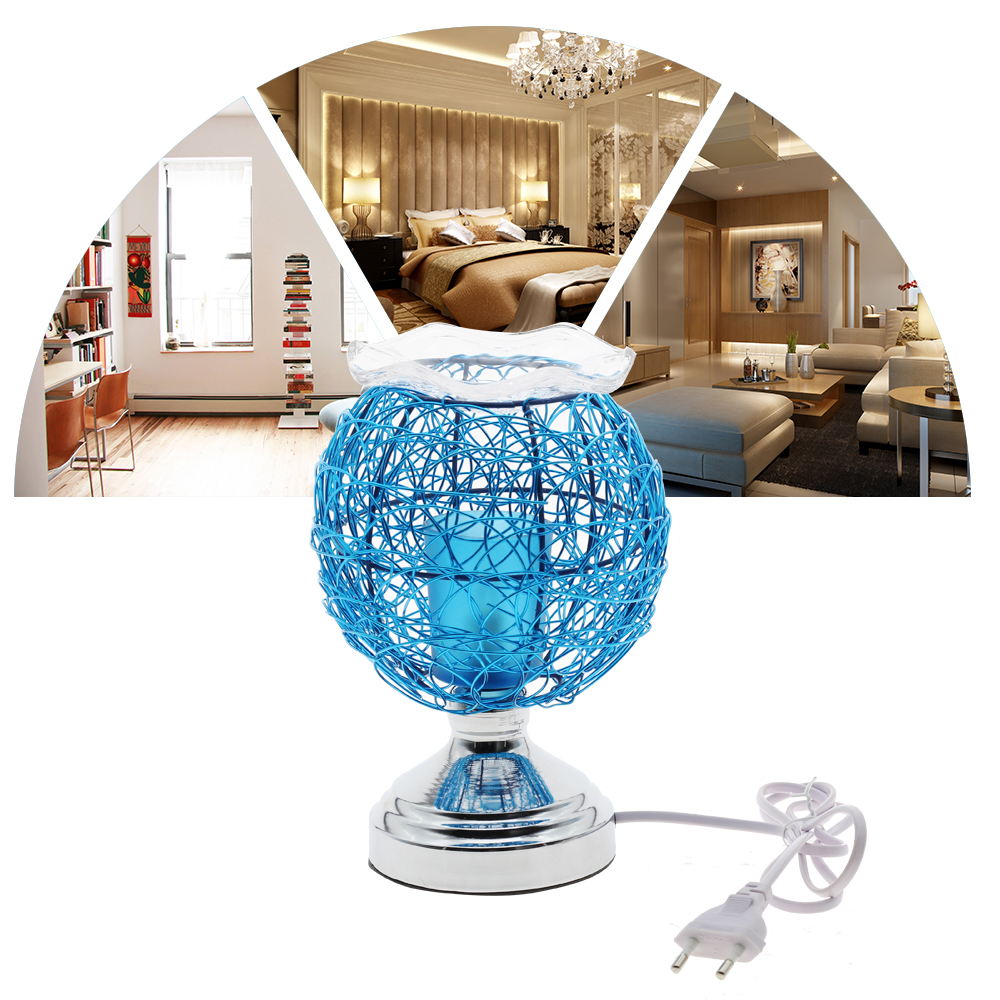 Dimmable Aromatherapy Nest Table Lamp 220V Electric Fragrance Essential Oil Lamp Air Aroma Diffuser Night Light Christmas Decor 2