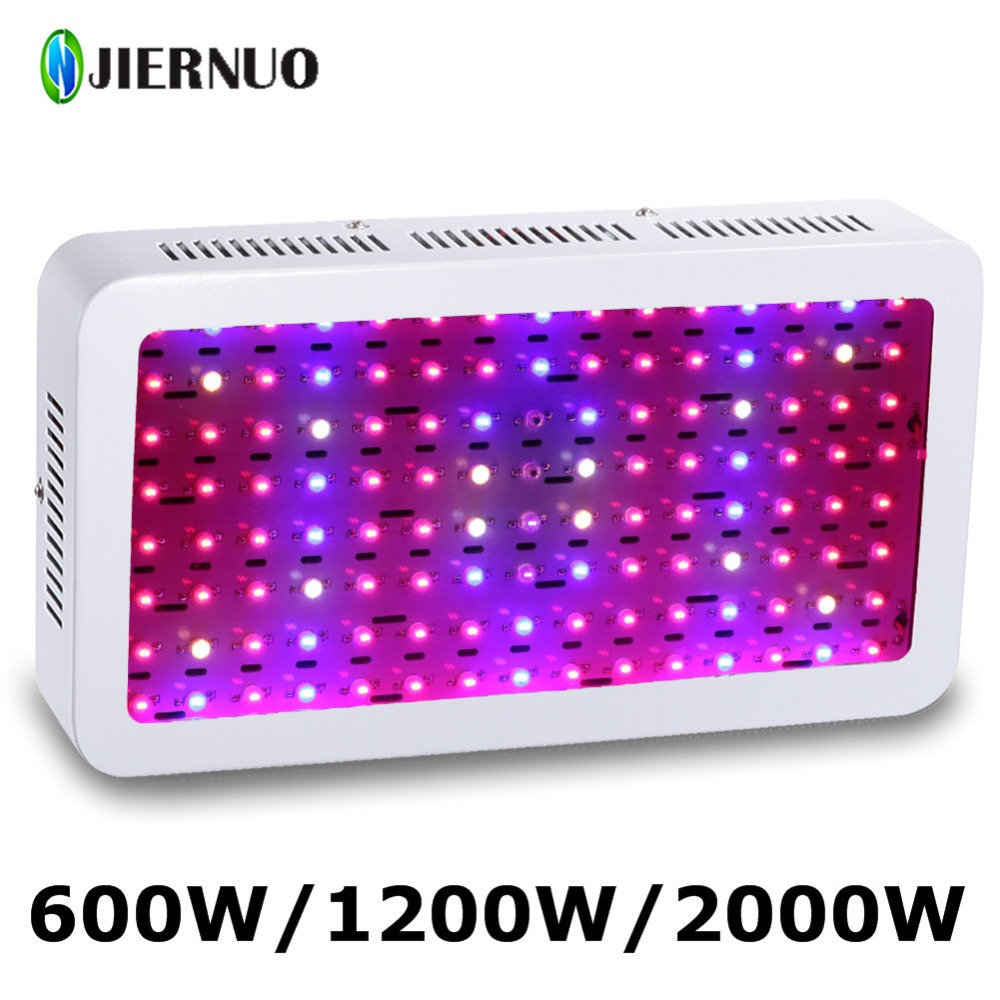 JIERNUO LED Grow Light Full Spectrum 2000W 1200W 600W Double Chip 10W Grow Light for indoor plants LED Growing lamp greenhouse jiernuo led grow light 600w mini double chips plants for lamps full spectrum for indoors plants greenhouse plants growing