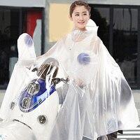 Free Shipping Men Women Poncho Motorcycle Electrombile Rainwear Outside Waterproof Raincoat Rain Gear
