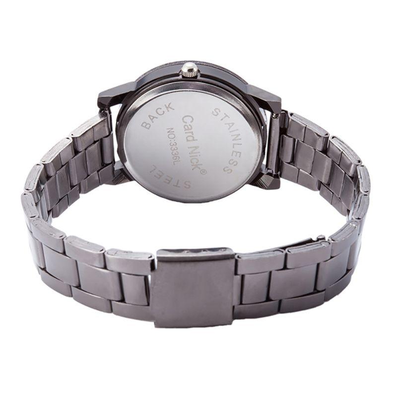 Новые модные роскошные мужские/женские часы компас из нержавеющей стали Кварцевые аналоговые наручные часы повседневные часы