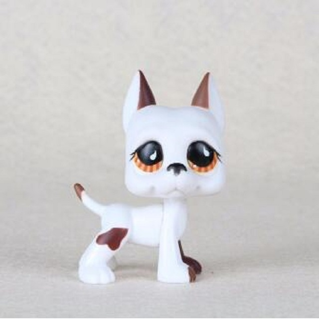 Lps Real Pet Shop Lps Toys Collections Standing Short Hair Cat White
