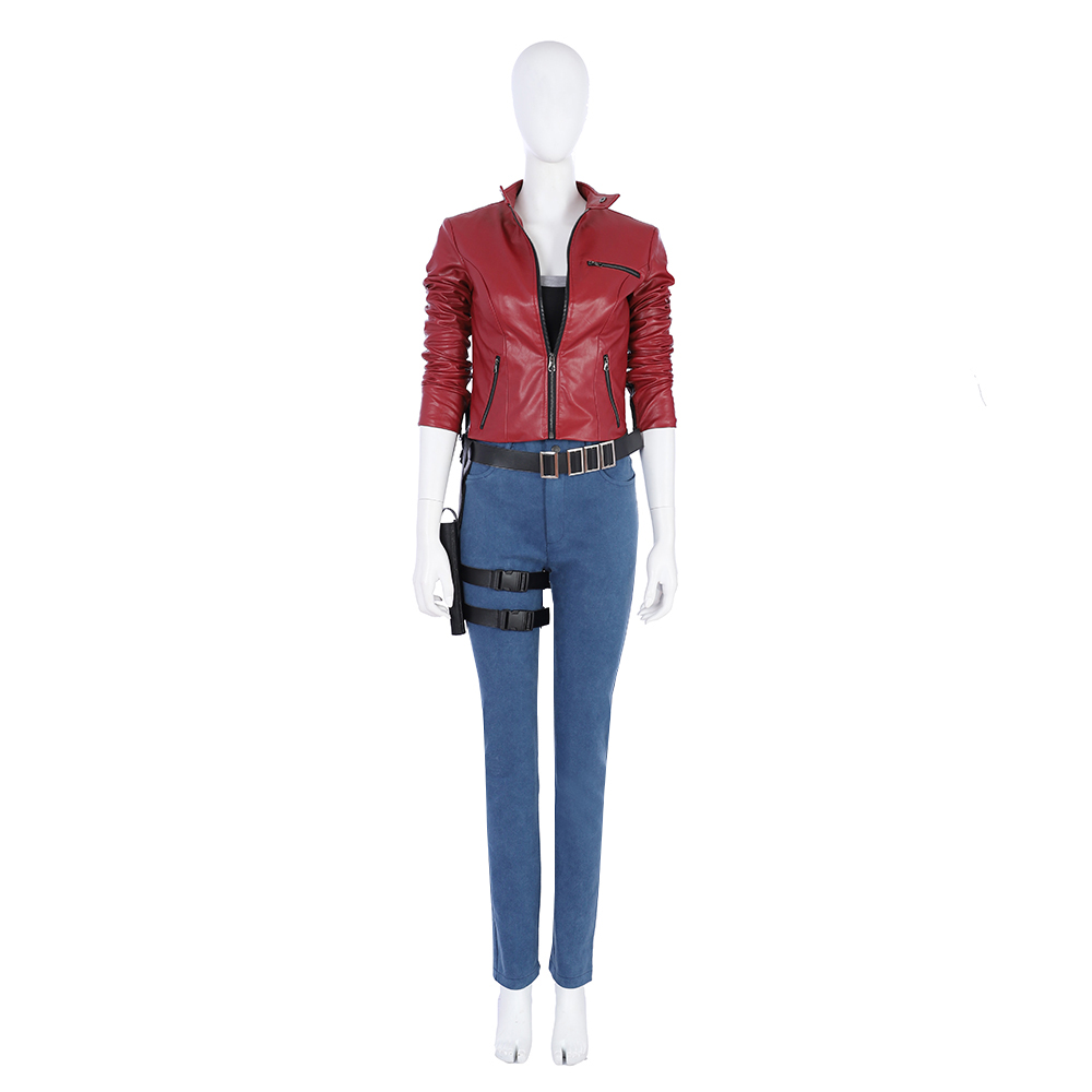 resident evil 7 biohazard claire cosplay costume version 2 women's