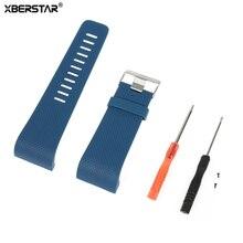50 Pcs Poignet Bande Montre Bracelet pour Fitbit Surge Activité Tracker Bracelet Montre Smart Watch Remplacement TPU avec Outils Boucle En Métal chaude