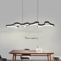 Creative Modern Led Hanging Pendant Lights For Shop Bar Dining Kitchen Room AC85 265V Acrylic Led Pendant Lamp Free Shipping