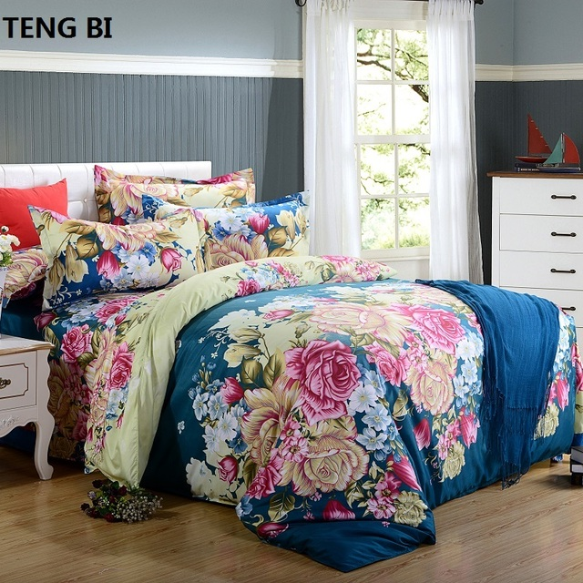 Free shipping!  bedding set,4pcs Duvet cover set,bedclothes bed in a bag,Include:bed sheet,duvet cover pillowcase