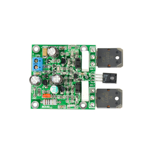 Image 4 - Aiyima 2PCS MX40 Dual Channel Stereo Audio Power Amplifier Board Amplificador 50W 8R