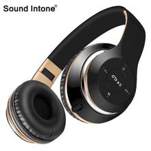 Sonido Entonan BT-09 Bluetooth Auriculares Inalámbricos con Micrófono Auriculares Estéreo Soporte de Tarjeta TF de Radio FM para el iphone Samsung Sony Xiaomi