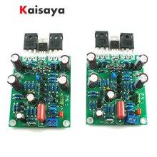 2 قطعة الفئة الجديدة AB MOSFET IRFP240 IRFP9240 L7 الصوت HIFI السلطة مكبر للصوت ثنائي القناة 300 واط إلى 350WX2 لوحة مكبر للصوت