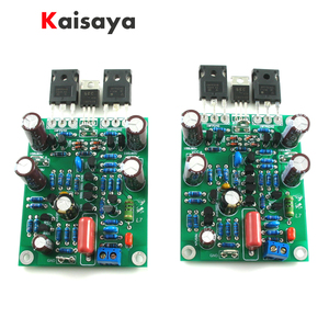2pcs new Class AB MOSFET IRFP240 IRFP9240 L7 Audio HIFI Power Amplifier DUAL-CHANNEL 300W to 350WX2 Amplifier Board(China)