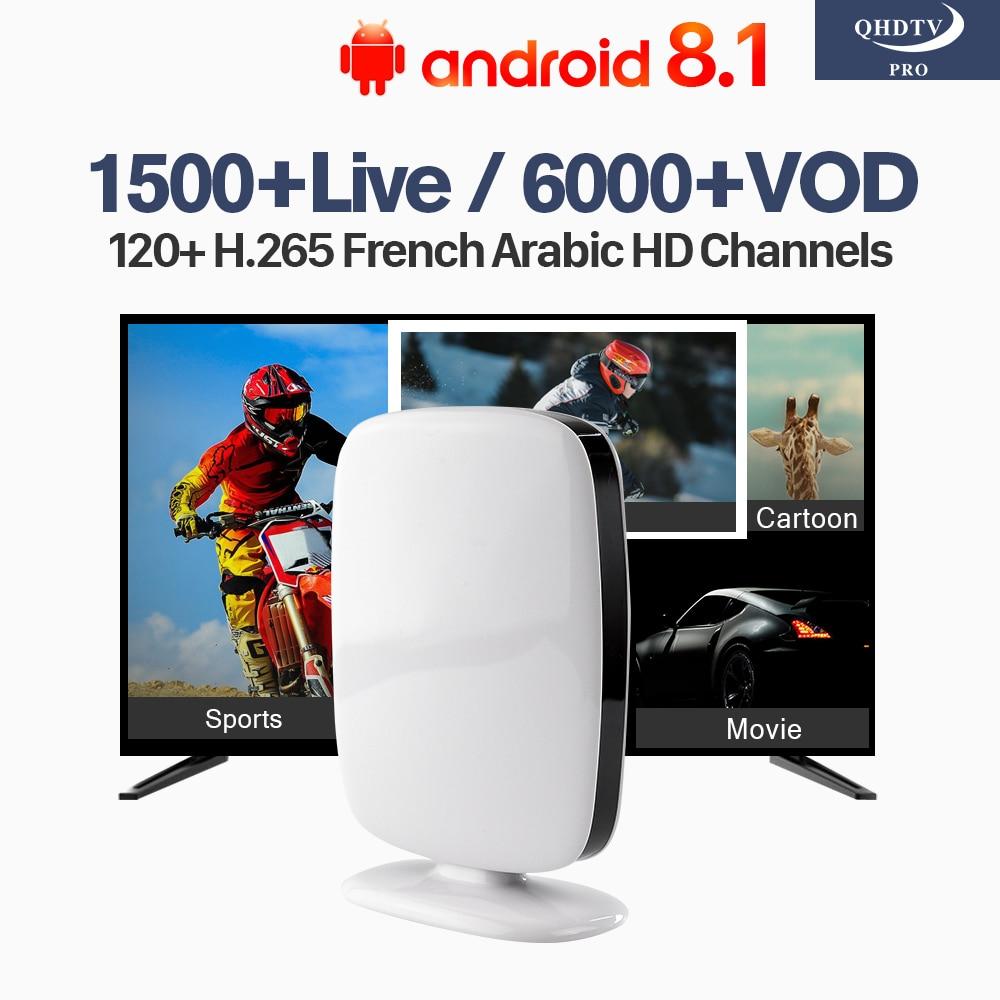R9 Arabic French IPTV Subscription H.265 Channels IP TV RK3229 Quad Core Android TV Box IPTV Algeria Lebanon Tunisia IP TV цены