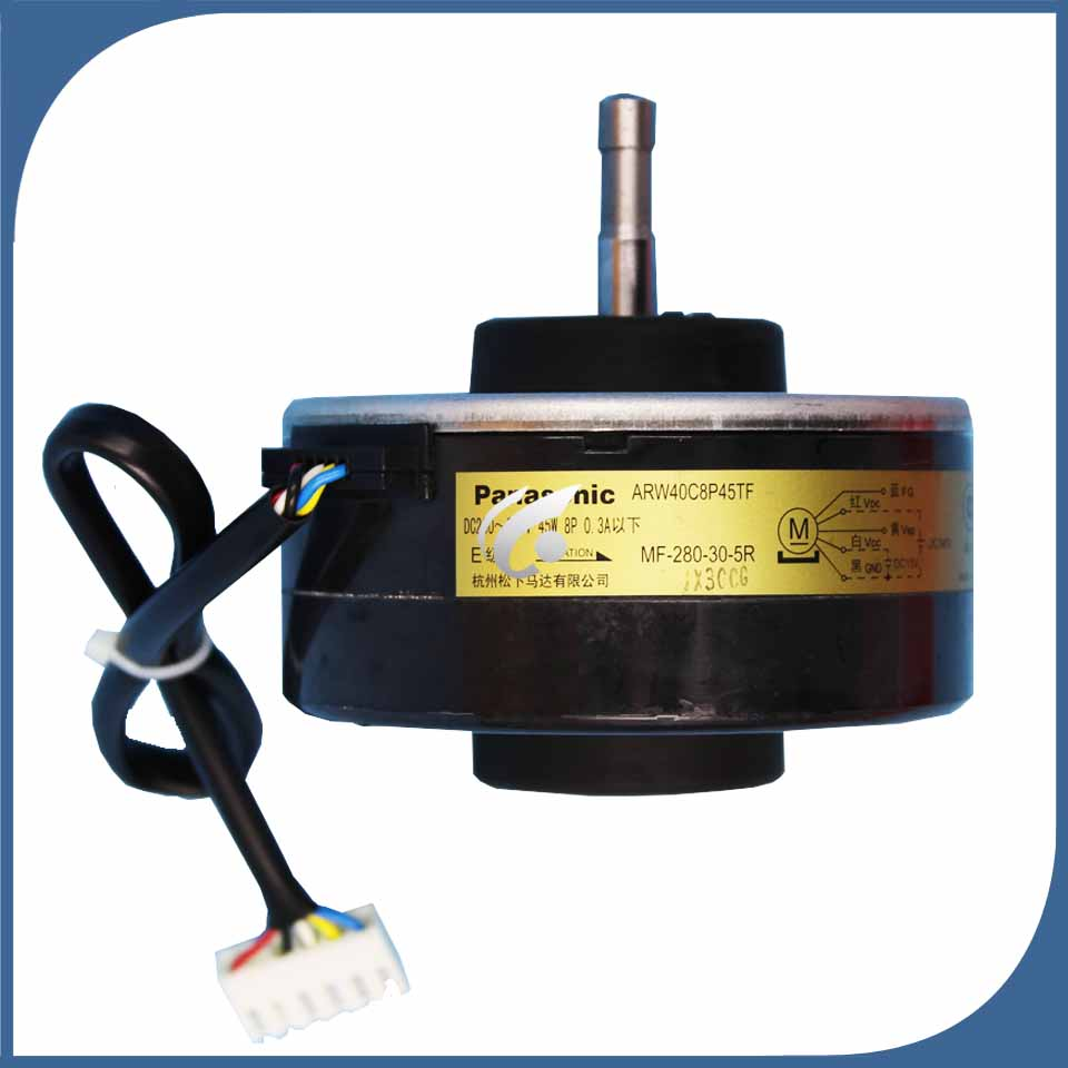 good working for Air conditioner Fan motor machine motor ARW40C8P45TF MF-280-30-5R good working good for air conditioning air conditioner fan motor dc motor rmxs140dv2c kfd 325 70 8c2