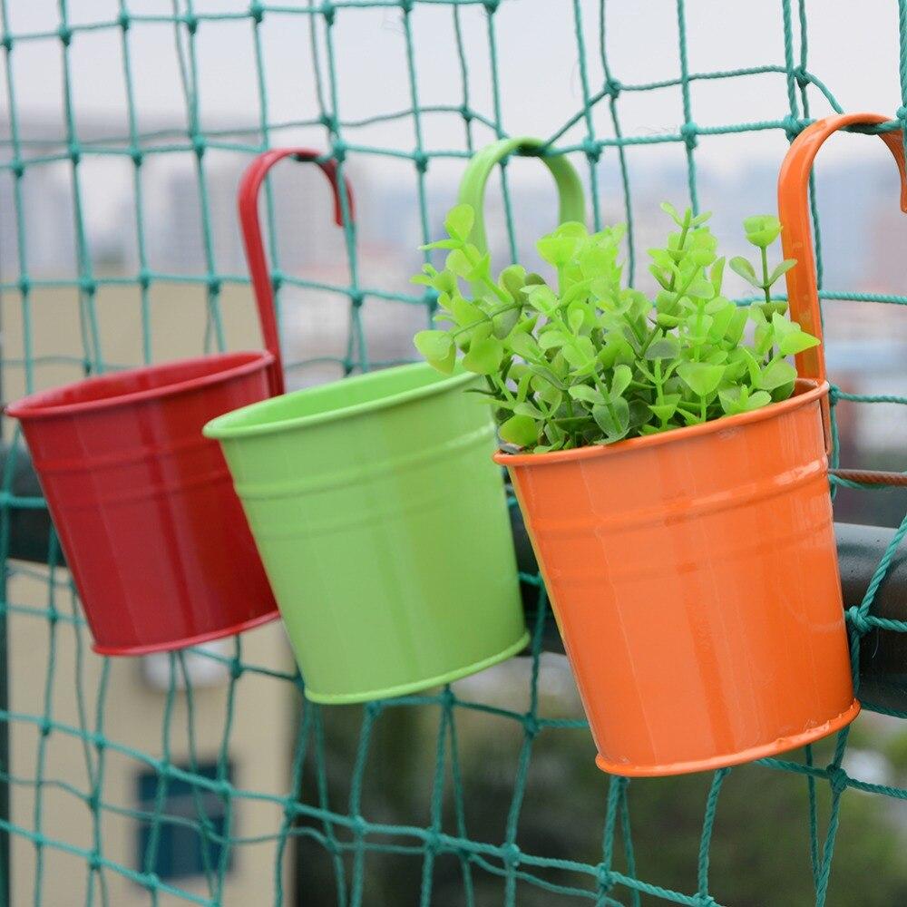 Vasi Da Giardino Colorati acquista / set colorato appeso vaso da fiori appendiabiti da