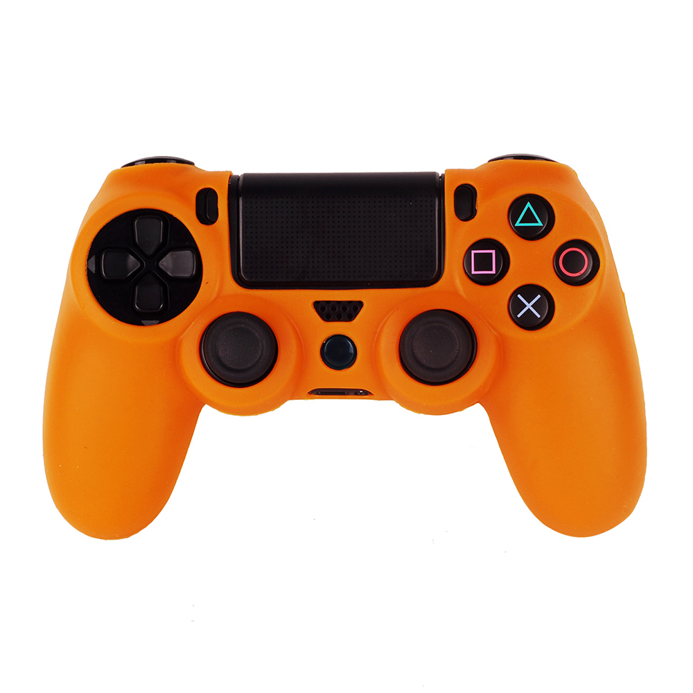 OURSTEAM Factory Supply Soft Silicone Skin Case For Sony PS4 Game Controller Grips Cover