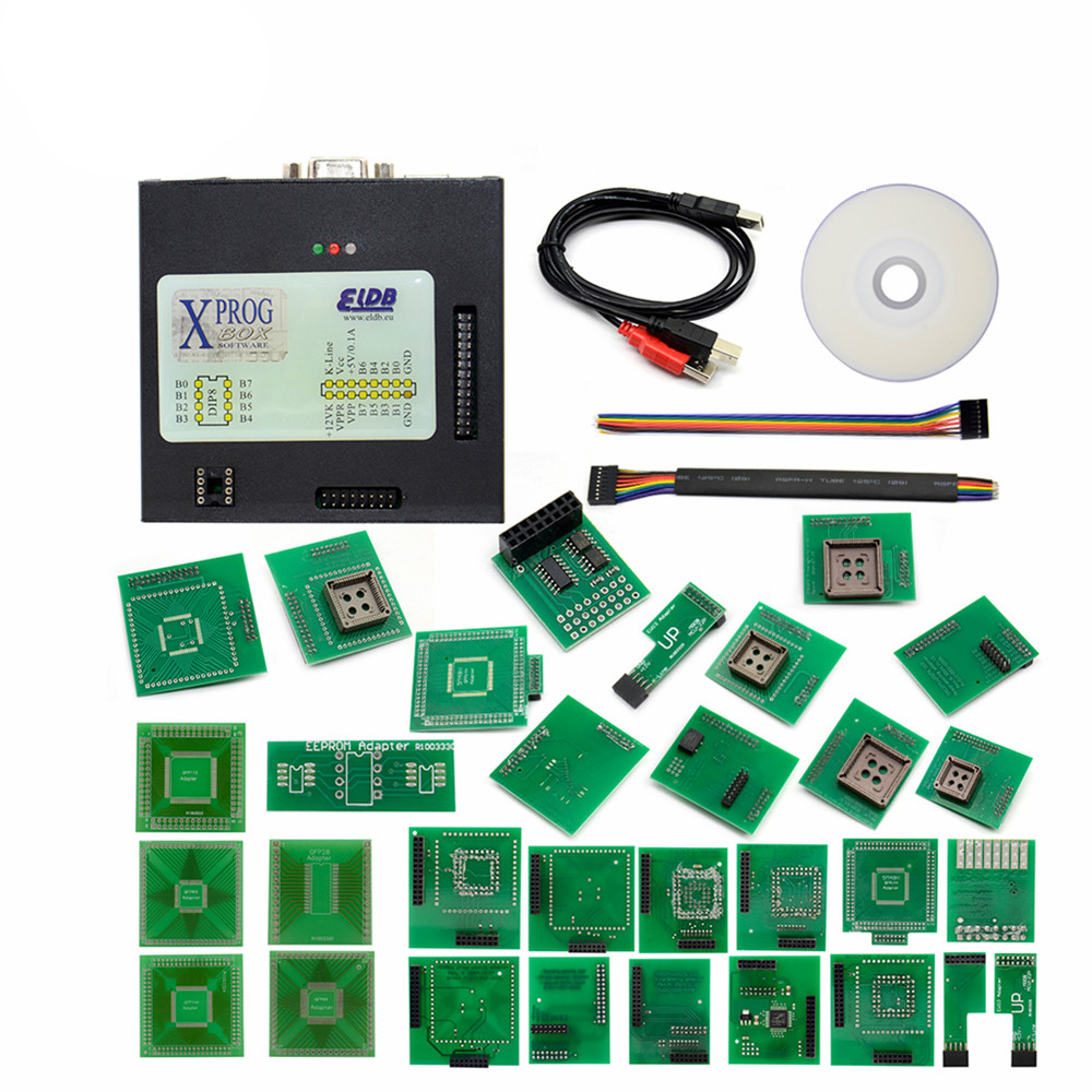 RIOOAK <font><b>XPROG</b></font> <font><b>V5.55</b></font> V5.70 V5.74V5.84 Auto ECU Chip Tuning Programmer <font><b>Xprog</b></font>-M More Authorization ECU Programming Interface <font><b>Xprog</b></font>-M image