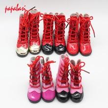 7.8cm Shoe laces high heels dolls shoes For 16inch 1/3 BJD shoes, Boot