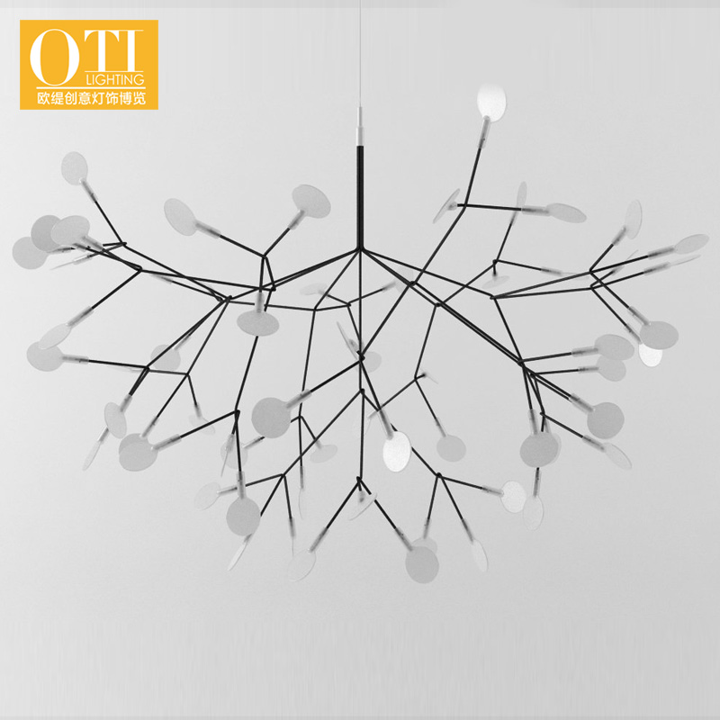Dia 98cm Pendant Light Modern 63 LEDs Pendant Lights Lamp for Restaurant