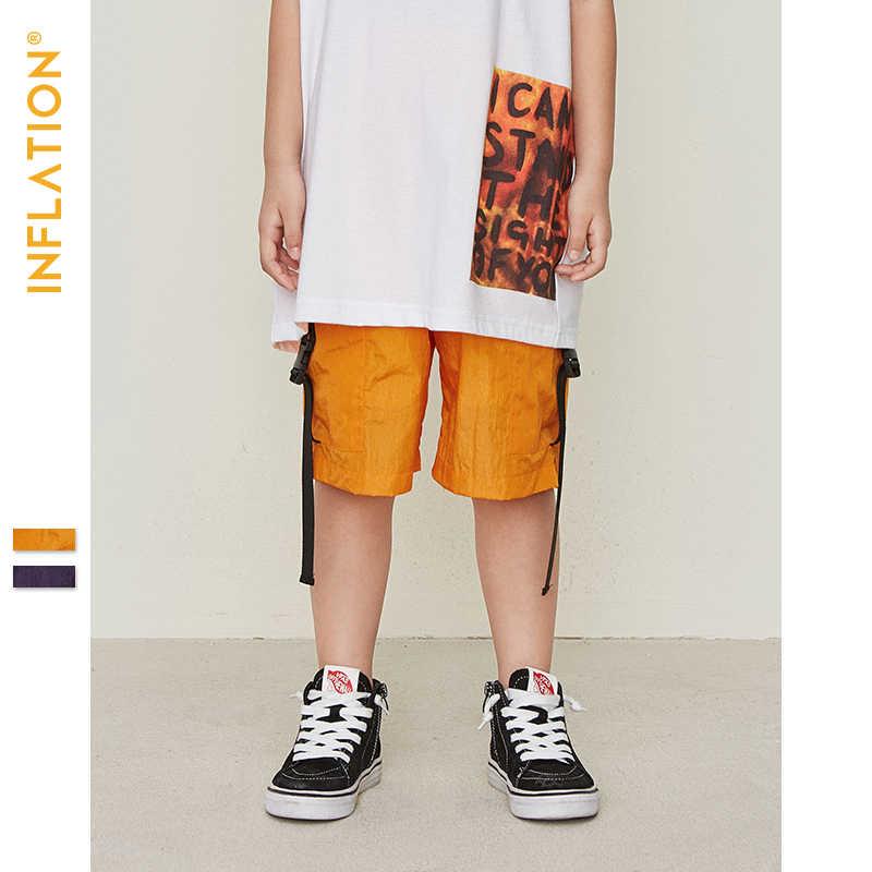 Летняя жилетка, шорты для мальчиков, Детские комплекты, свободная повседневная Уличная одежда в стиле хип-хоп, короткие штанишки для мальчиков, одежда, топы, 19210 S