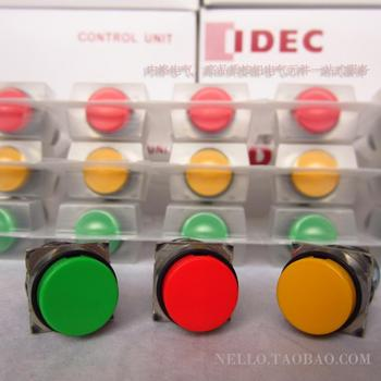 [ SA ]IDEC Izumi of Japan since the reset button switch 16mm round AB6M-M1 * C without light 1a1b--10PCS/LOT