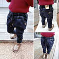 Children Pants Retail High Quality Spring Autumn Baby Boys Girls Jeans Casual Paint Kids Denim Pants +For 1-5T
