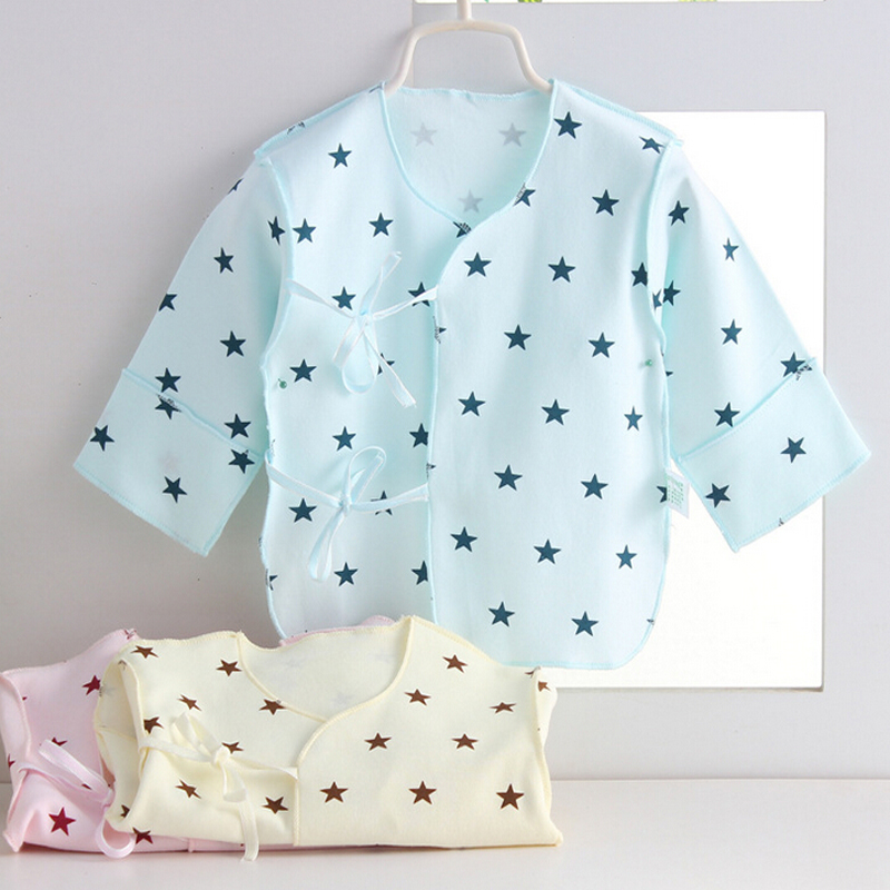 New newborn Baby shirt blouse baby infant underwear coat pure cotton tops more 12 styles Good Quality