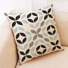 Pillow Home Decor Cushion Simple Geometric Throw Pillowcase Pillow Free Shipping
