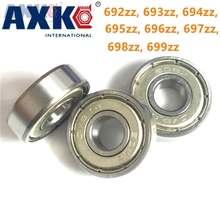 10pcs/Lot 692zz, 693zz, 694zz, 695zz, 696zz, 697zz, 698zz, 699zz Miniature Bearing Deep Groove Ball Bearing Brand New