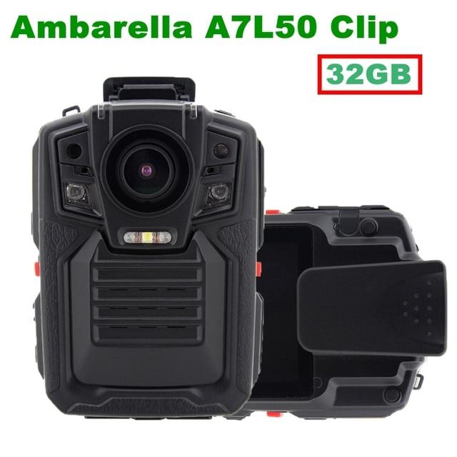Free Shipping!Ambarella A7 1080P 30fps HD Police Camera/Police Body Worn Camera Action Body Police Camera