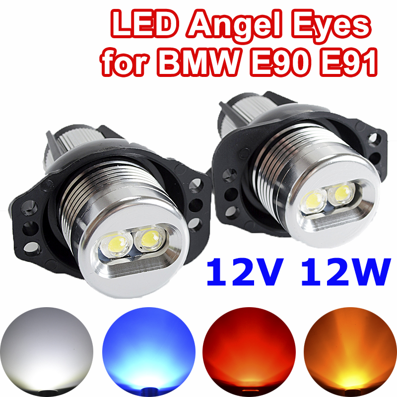 Smoke Lens D DOLITY 1 Pair of Amber LED Side Marker Light Signal Lamps for BMW 1 3 5 Series E60 E81 E90 Carbon Fiber Carbon Fiber