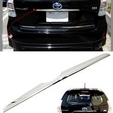 Sus304 Нержавеющаясталь сзади ручка Крышка хэтчбек gainish отделкой Автомобиль Стайлинг Обложка Интимные аксессуары для Toyota Prius Альфа V zvw40