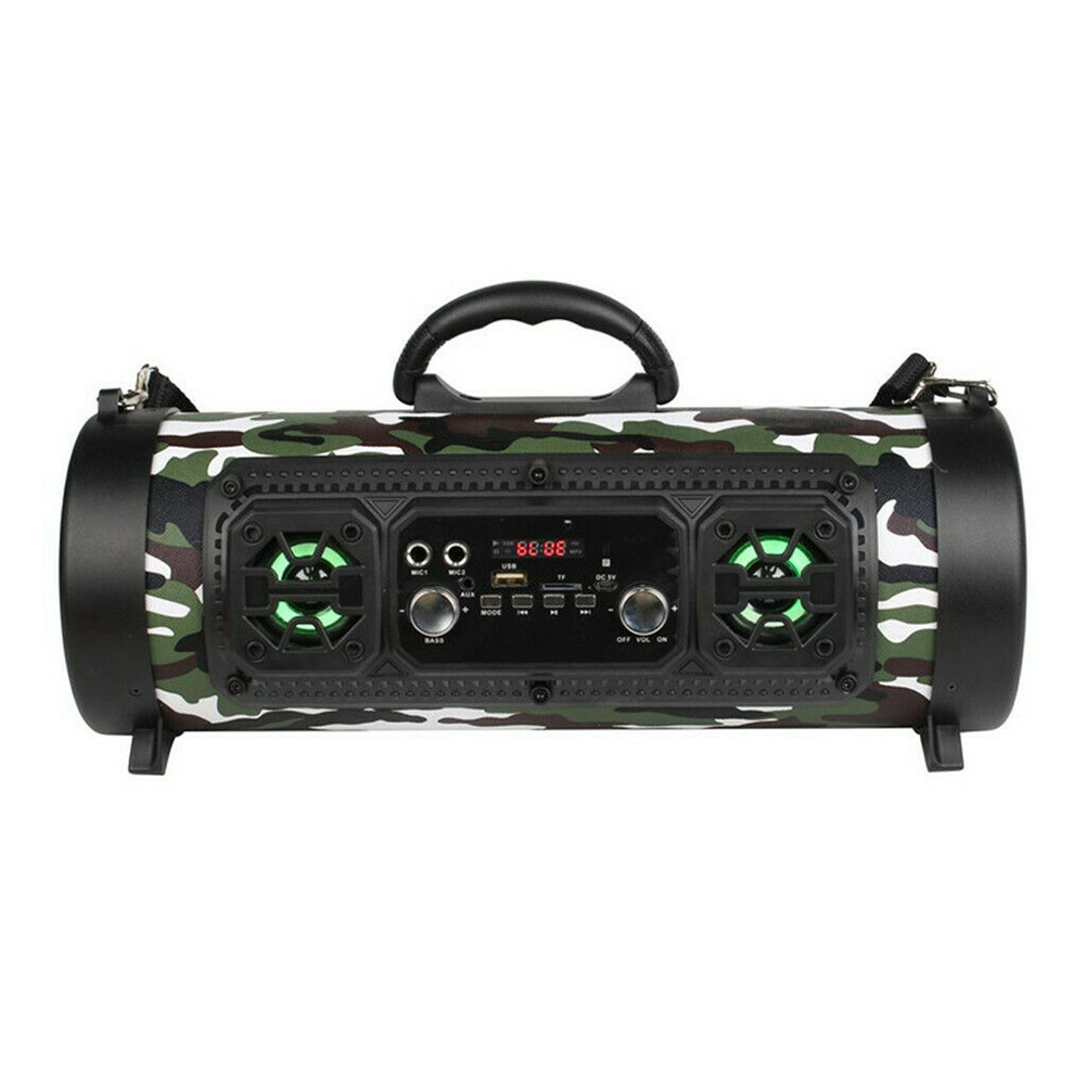 Sans fil Bluetooth étanche Portable haute puissance 15 W musique baril haut-parleur pour extérieur SGA998