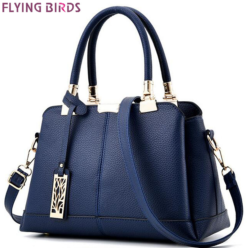 FLYING BIRDS women tote designer famous brands women leather handbag patchwork purse shoulder bag messenger bags A17fb 4sets herringbone women leather messenger composite bags ladies designer handbag famous brands fashion bag for women bolsos cp03