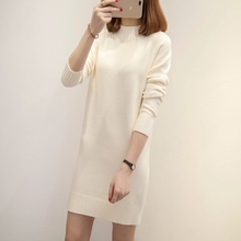 The long winter in the female half Turtleneck Shirt sleeve loose Korean head sweater coat new