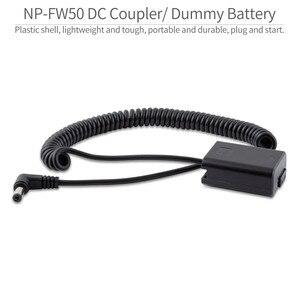 Image 3 - FEELWORLD F5 MA5 F6 A6 NP FW50 Factice Batterie Compatible avec Sony a6000 a6100 a6300 a6500 A7 A7S A7R a7 II a7S II a7R II Caméra