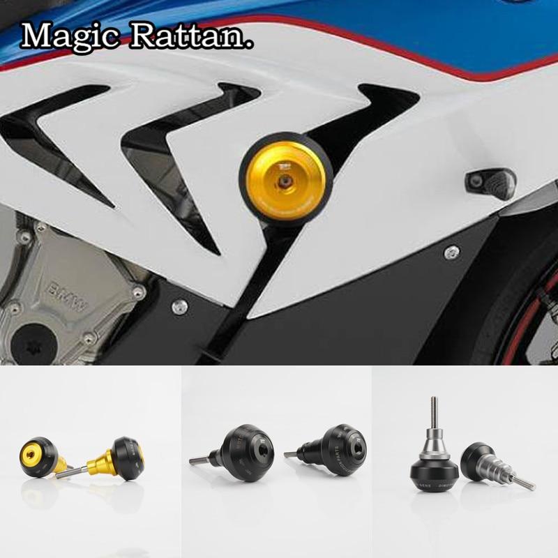 Motorcycle CNC Aluminum Frame Slider Anti Crash Caps Engine Protection Crash Pad Protector For S1000RR 2009-2011 2015-2017