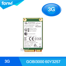 New Sierra MC8355 Gobi3000 Mini PCI e Wireless 3G WWAN HSPA EVDO EDGE GPRS GSM GPS