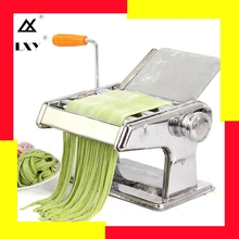 Stainless Steel Manual Pasta Maker Noodle Making Machine Vegetable Noodle Maker Machine Tool Free Shipping цена