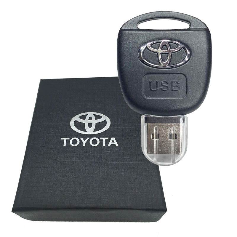 USB Flash Drive Car Key For Toyota 8GB 16GB 32GB 64GB Individuation USB Key Pendrive Card