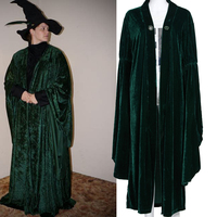 Professor McGonagall Cosplay Robe Noel Medieval Costume Big Cloak From Harry Outfits Costumes For Women Halloween Christmas