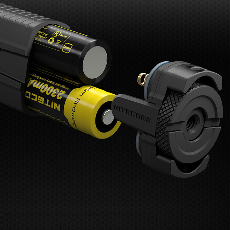 Топ продаж NITECORE EC4GT удобный портативный 1000 LMs излучатель фонарик прожектор охотничий походный фонарь без батареи Бесплатная доставка - 6