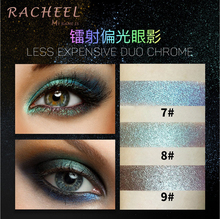 3PCS/LOT Glitter injections Pressed Glitters Single Eyeshadow Diamond Rainbow Make Up Eye shadow Magnet Palette