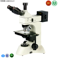 Cheap price AIBOULLY 600X metallographic microscope Analysis of semiconductor alloy materials Failure metallurgy of carbon steel Instrument