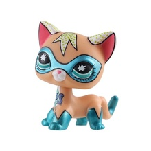Rare Pet Shop Lps Toys Standing Littlest Short Hair Cat  Old