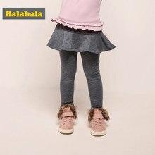 9ff8014ee Balabala Todder Girl Fleece-Lined Leggings with Fleece-Lined Flared Skirt  Ribbed Waistband for Children Kids Girl Winter Outfits