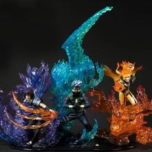 цена Naruto Figure Uzumaki Naruto Kurama Uchiha Itachi Sasuke Hatake Kakashi Susanoo Relation Collection PVC Action Figure Zero Toys онлайн в 2017 году