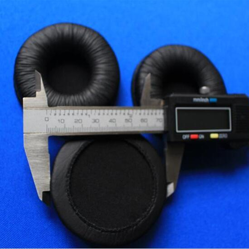 3e294ab668d Linhuipad 1 pair MDR V150 headphone Leather Ear Earpads Cushions 70mm  diameter for Sony MDR V150 V250 V300-in Earphone Accessories from Consumer  Electronics ...