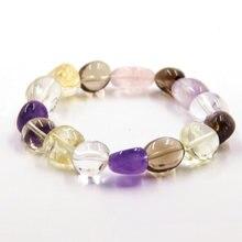 Женские браслеты с кристаллами модные украшения из натурального