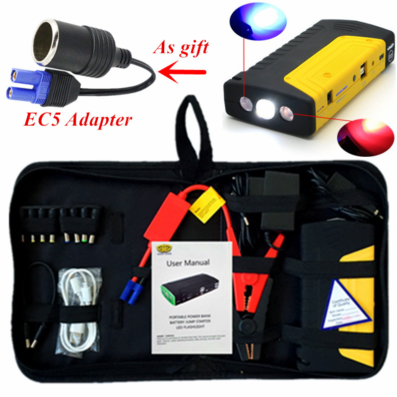 2017 Emergency Starting Device Petrol Diesel 12V Car Jump Starter Portable 600A Car Charger For Car Battery Booster Buster LED high capacity car jump starter mini portable emergency battery charger for petrol