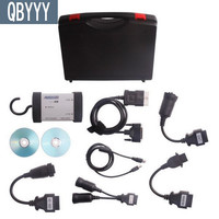 QBYYY AUGOCOM H8 Diagnostic Tool AUGOCOM H8 with Software Diesel Truck Interface Same Function as Nexiq USB LINK 125032