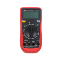 UNI T UT890D Digital Multimeter True RMS AC/DC Voltmeter Ammeter 6000 Counts Meter Tester Multimetrwith Probe LCD Multimeter